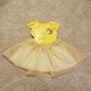 DISNEY BELLE velvet dress!